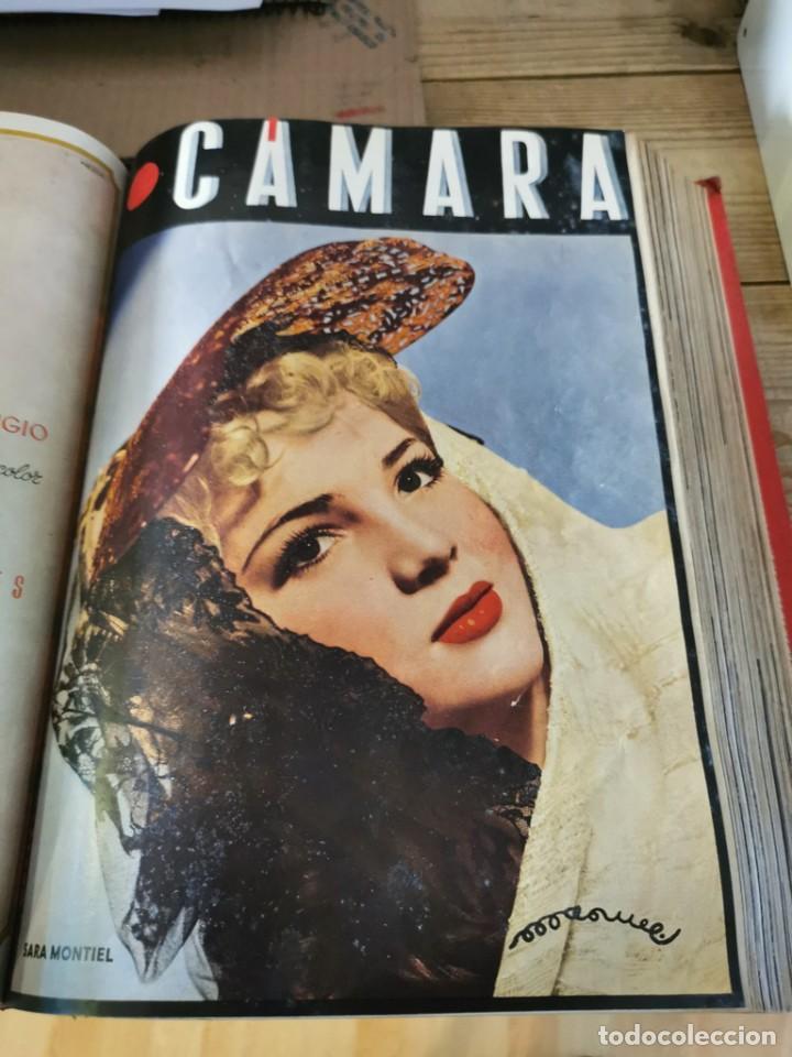 Cine: revista camara, encuadernada, año 1945 completo, nº 48 a 71, 24 revistas - Foto 15 - 253210455