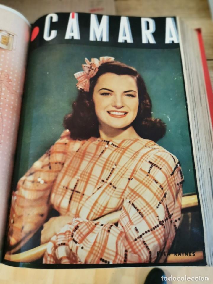Cine: revista camara, encuadernada, año 1945 completo, nº 48 a 71, 24 revistas - Foto 16 - 253210455