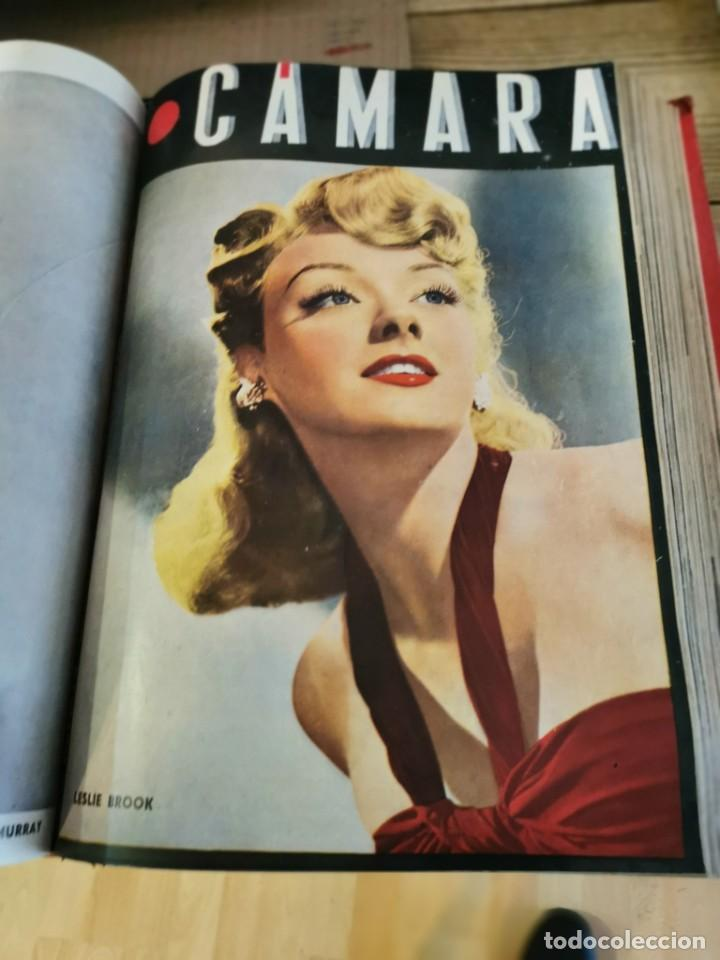 Cine: revista camara, encuadernada, año 1945 completo, nº 48 a 71, 24 revistas - Foto 17 - 253210455