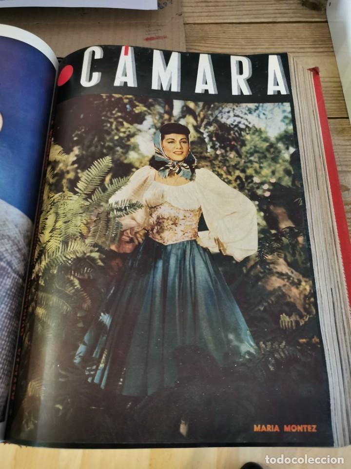 Cine: revista camara, encuadernada, año 1945 completo, nº 48 a 71, 24 revistas - Foto 18 - 253210455