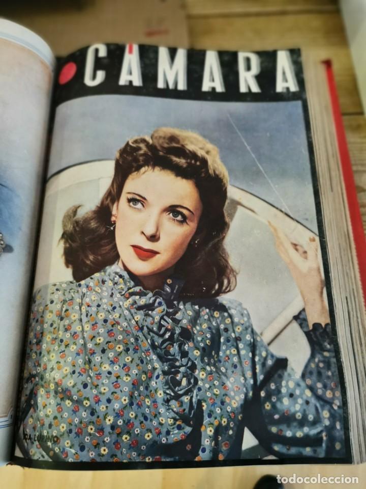 Cine: revista camara, encuadernada, año 1945 completo, nº 48 a 71, 24 revistas - Foto 19 - 253210455