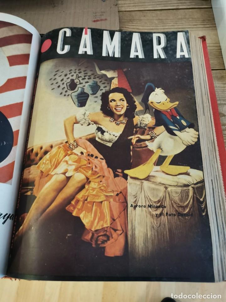 Cine: revista camara, encuadernada, año 1945 completo, nº 48 a 71, 24 revistas - Foto 20 - 253210455