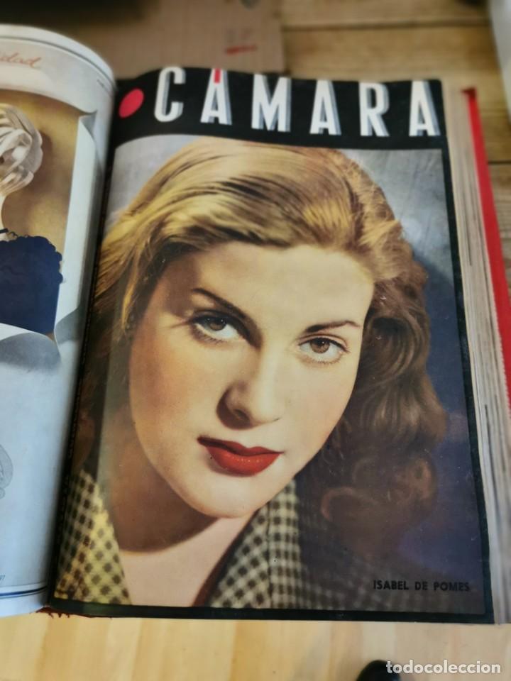Cine: revista camara, encuadernada, año 1945 completo, nº 48 a 71, 24 revistas - Foto 21 - 253210455