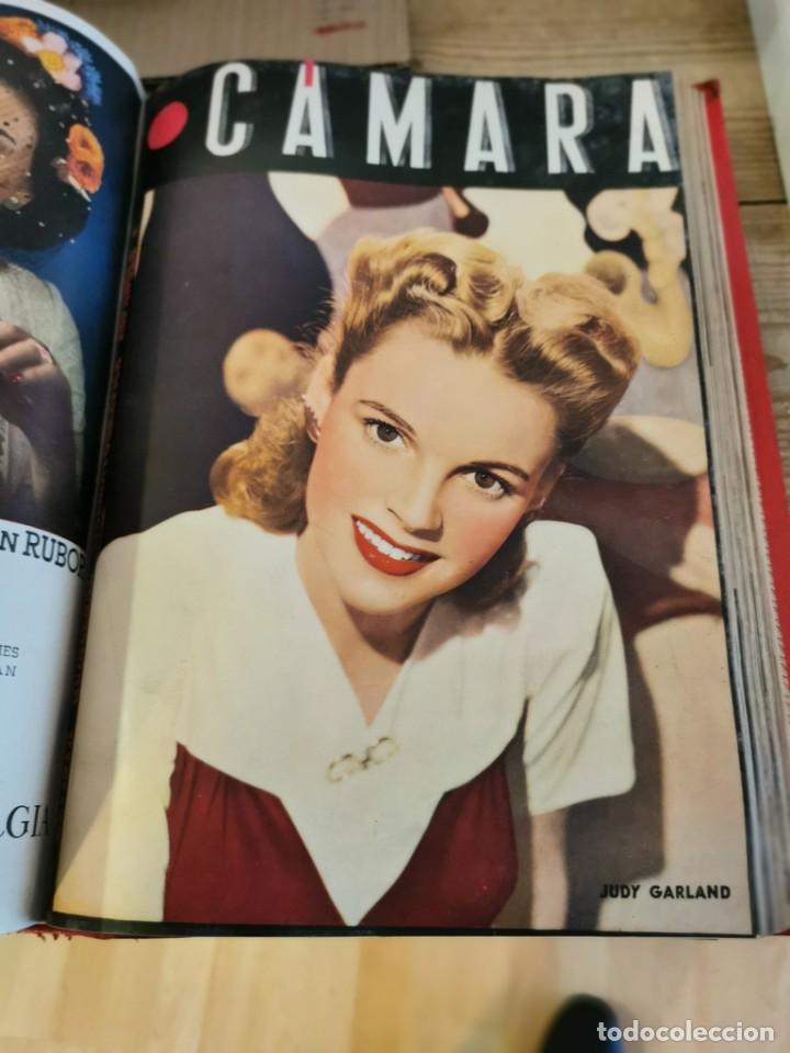 Cine: revista camara, encuadernada, año 1945 completo, nº 48 a 71, 24 revistas - Foto 22 - 253210455