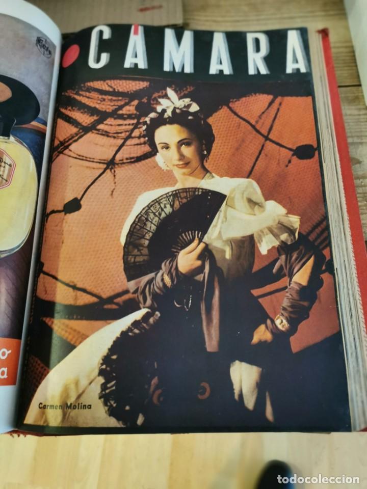 Cine: revista camara, encuadernada, año 1945 completo, nº 48 a 71, 24 revistas - Foto 23 - 253210455