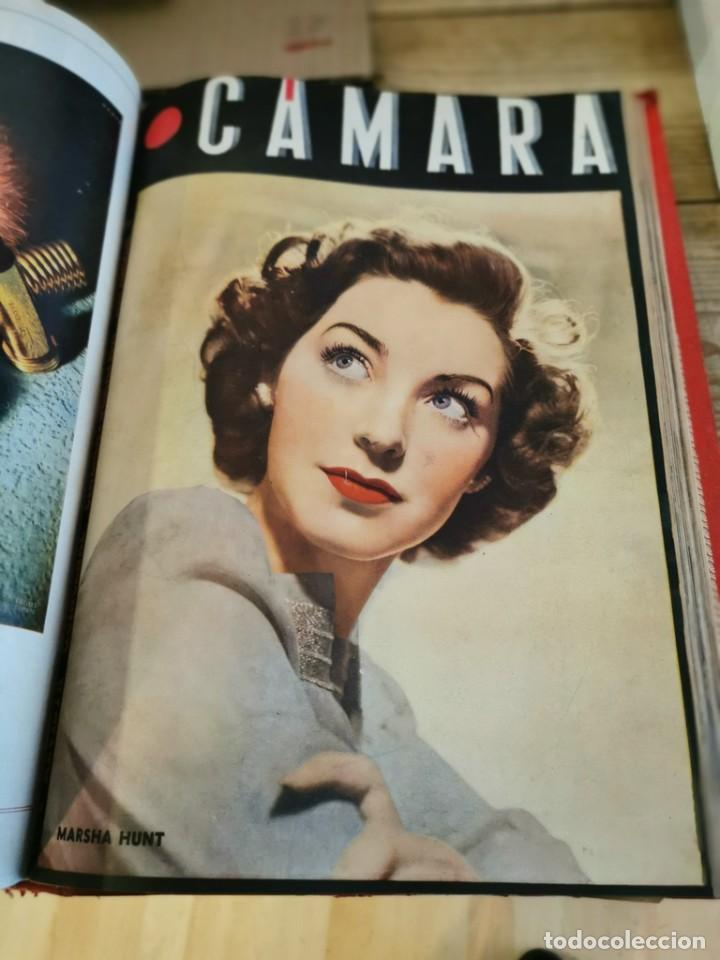 Cine: revista camara, encuadernada, año 1945 completo, nº 48 a 71, 24 revistas - Foto 24 - 253210455