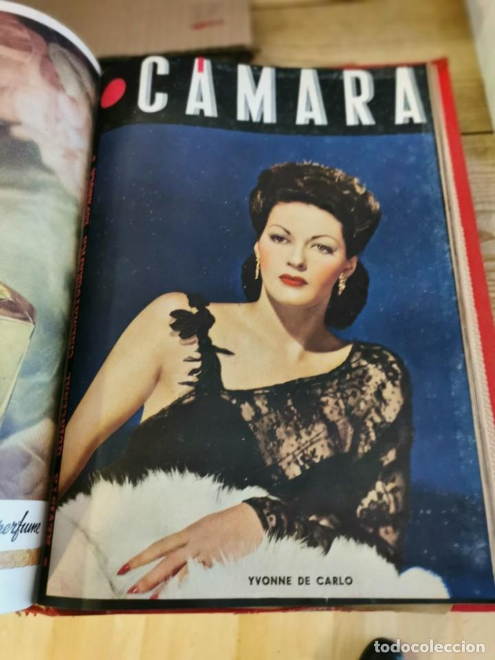 Cine: revista camara, encuadernada, año 1945 completo, nº 48 a 71, 24 revistas - Foto 26 - 253210455