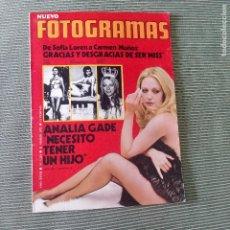 Cinema: FOTOGRAMAS 1224 - 31 MARZO 1972 / ANALIA GADE. Lote 253213355