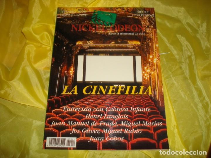 NICKEL ODEON Nº 11. VERANO 1998. LA CINEFILIA. REVISTA DE CINE (Cine - Revistas - Nickel Odeon)