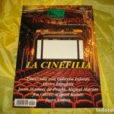 Cine: NICKEL ODEON Nº 11. VERANO 1998. LA CINEFILIA. REVISTA DE CINE. Lote 253307585