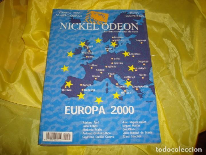 NICKEL ODEON Nº 15. VERANO 1999. EUROPA 2000. REVISTA DE CINE (Cine - Revistas - Nickel Odeon)