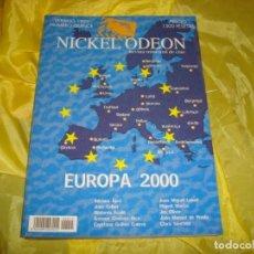 Cine: NICKEL ODEON Nº 15. VERANO 1999. EUROPA 2000. REVISTA DE CINE. Lote 253308115