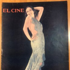 Cinema: REVISTA EL CINE 1932 IMPERIO ARGENTINA.CONSUELO VALENCIA.BARBARA STANWYCK.JEAN HARLOW. Lote 253530630