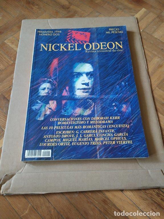 REVISTA NICKEL ODEON Nº 2 AÑO 1996. COVERSACIONES CON DEBORAH KERR DOMANTICISMO Y MELODRAMA. (Cine - Revistas - Nickel Odeon)