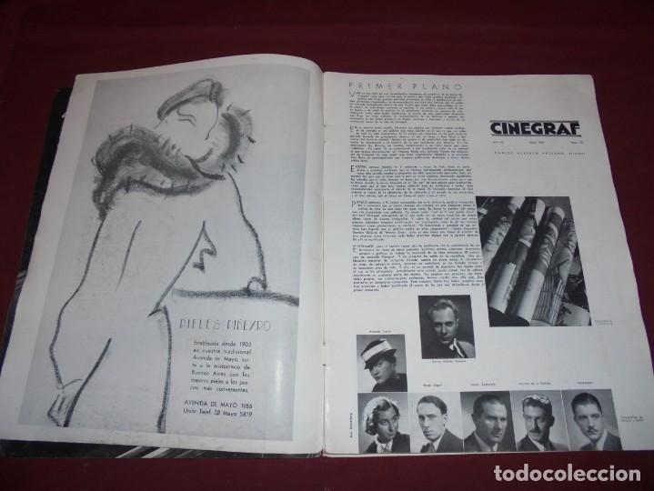 Cine: magnifica antigua revista cinegraf 1934 numero 25, GRETA GARBO - Foto 3 - 253875150