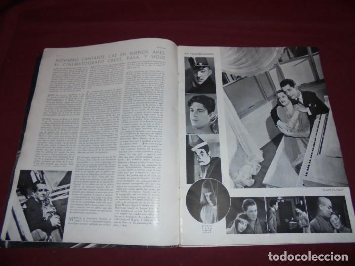 Cine: magnifica antigua revista cinegraf 1934 numero 25, GRETA GARBO - Foto 4 - 253875150