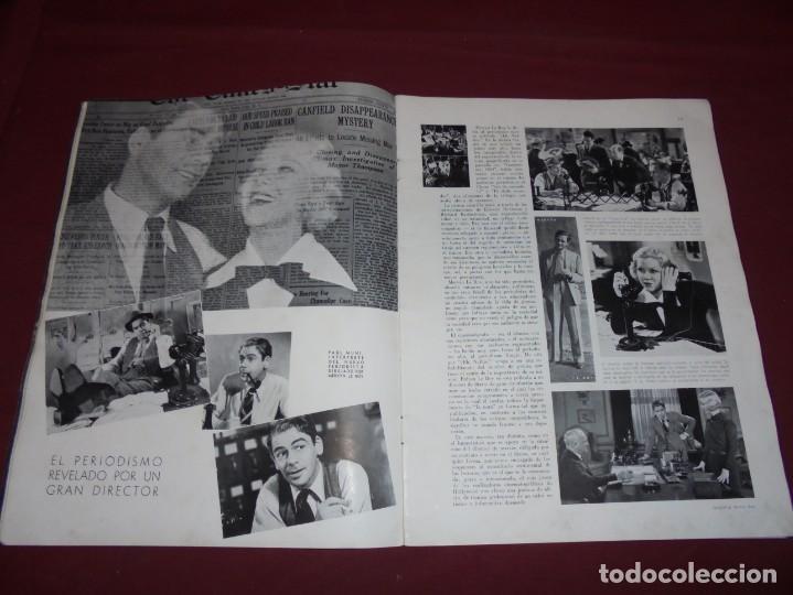 Cine: magnifica antigua revista cinegraf 1934 numero 25, GRETA GARBO - Foto 7 - 253875150