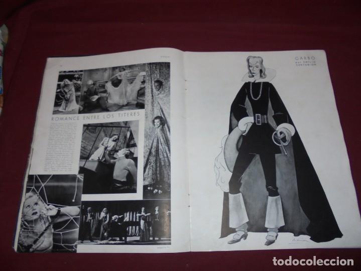 Cine: magnifica antigua revista cinegraf 1934 numero 25, GRETA GARBO - Foto 9 - 253875150