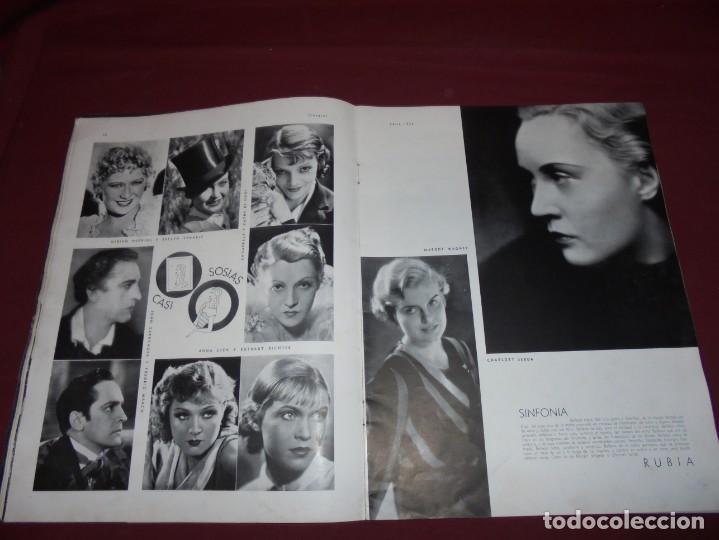 Cine: magnifica antigua revista cinegraf 1934 numero 25, GRETA GARBO - Foto 10 - 253875150