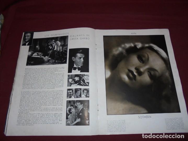 Cine: magnifica antigua revista cinegraf 1934 numero 25, GRETA GARBO - Foto 11 - 253875150
