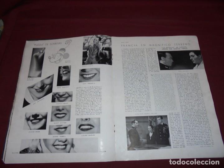 Cine: magnifica antigua revista cinegraf 1934 numero 25, GRETA GARBO - Foto 12 - 253875150