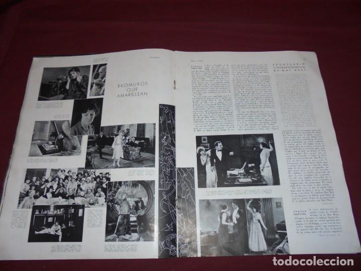 Cine: magnifica antigua revista cinegraf 1934 numero 25, GRETA GARBO - Foto 13 - 253875150