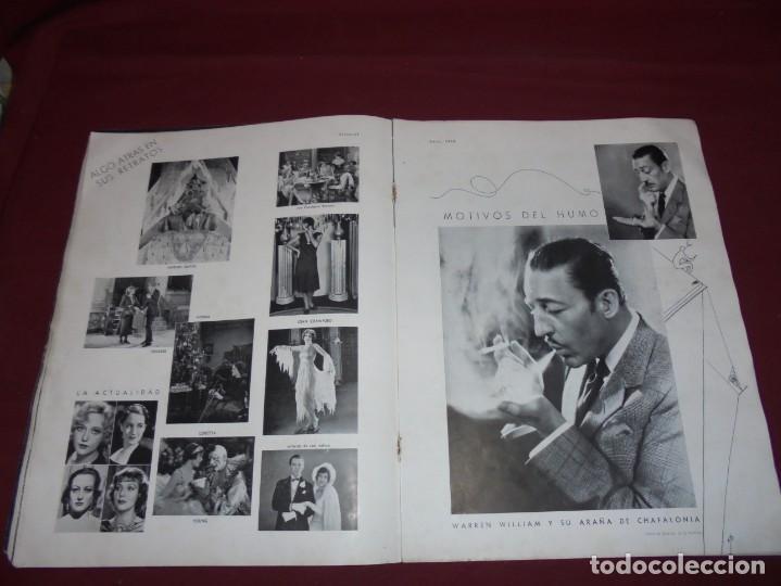 Cine: magnifica antigua revista cinegraf 1934 numero 25, GRETA GARBO - Foto 14 - 253875150