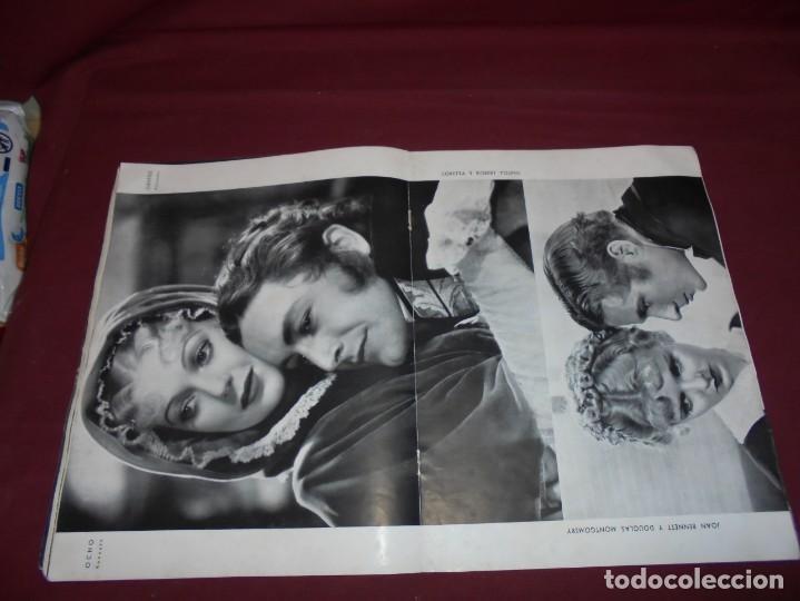 Cine: magnifica antigua revista cinegraf 1934 numero 25, GRETA GARBO - Foto 15 - 253875150
