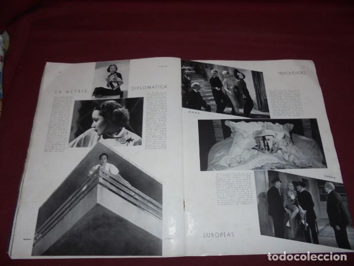 Cine: magnifica antigua revista cinegraf 1934 numero 25, GRETA GARBO - Foto 16 - 253875150
