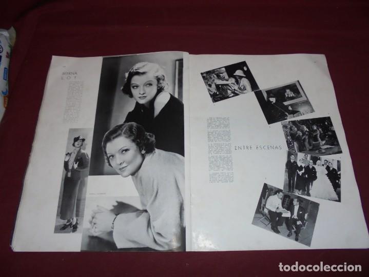 Cine: magnifica antigua revista cinegraf 1934 numero 25, GRETA GARBO - Foto 17 - 253875150