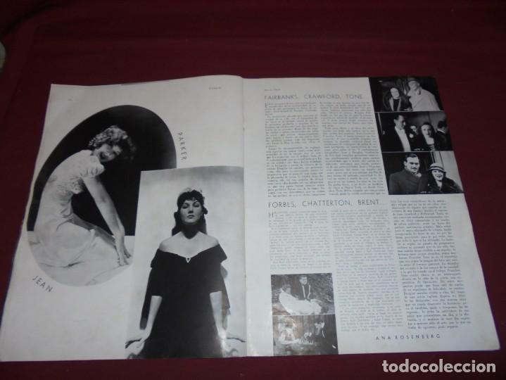 Cine: magnifica antigua revista cinegraf 1934 numero 25, GRETA GARBO - Foto 18 - 253875150