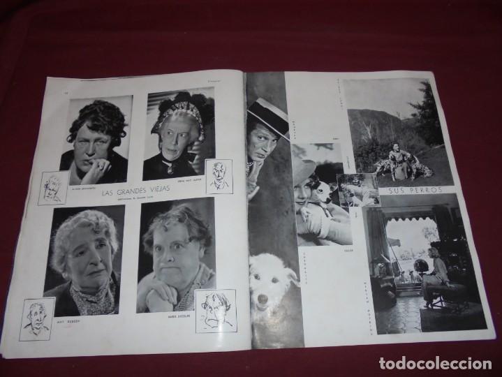 Cine: magnifica antigua revista cinegraf 1934 numero 25, GRETA GARBO - Foto 20 - 253875150