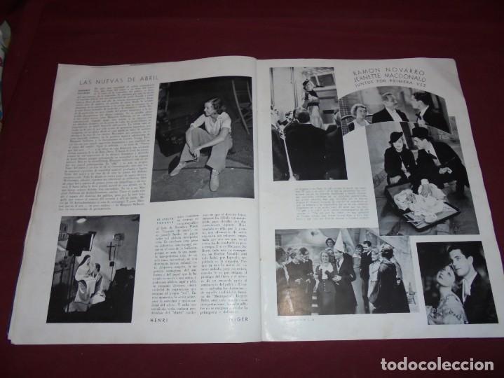 Cine: magnifica antigua revista cinegraf 1934 numero 25, GRETA GARBO - Foto 21 - 253875150