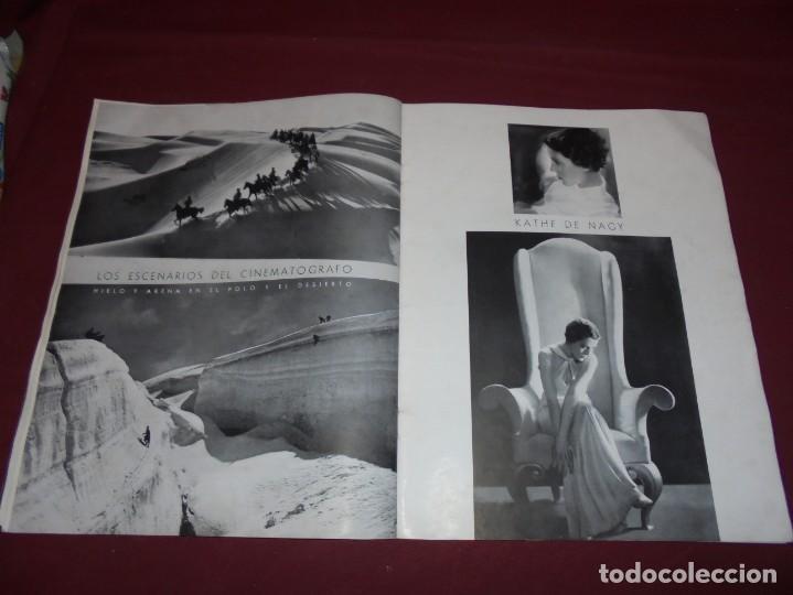 Cine: magnifica antigua revista cinegraf 1934 numero 25, GRETA GARBO - Foto 22 - 253875150