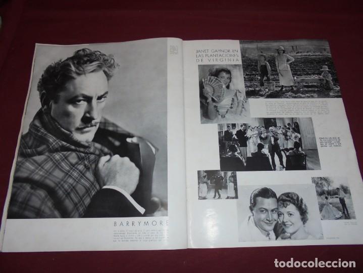 Cine: magnifica antigua revista cinegraf 1934 numero 25, GRETA GARBO - Foto 23 - 253875150