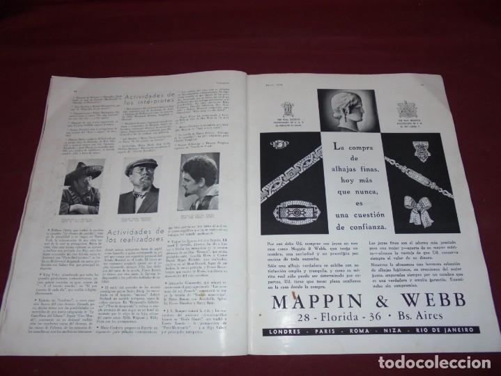 Cine: magnifica antigua revista cinegraf 1934 numero 25, GRETA GARBO - Foto 25 - 253875150