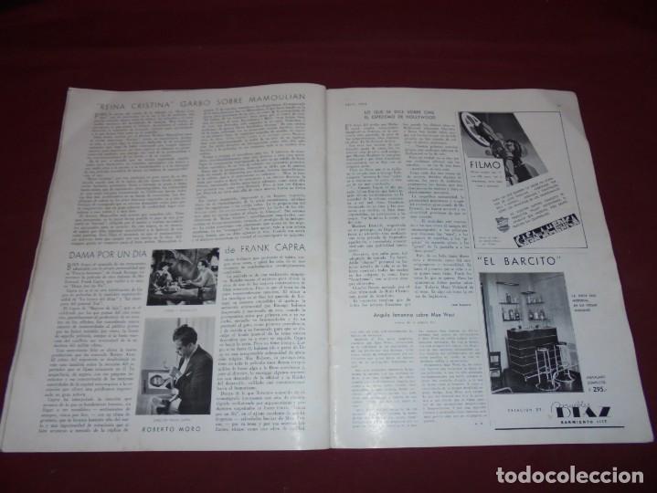 Cine: magnifica antigua revista cinegraf 1934 numero 25, GRETA GARBO - Foto 26 - 253875150