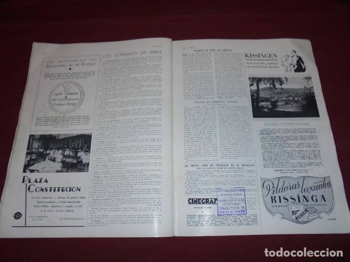 Cine: magnifica antigua revista cinegraf 1934 numero 25, GRETA GARBO - Foto 27 - 253875150