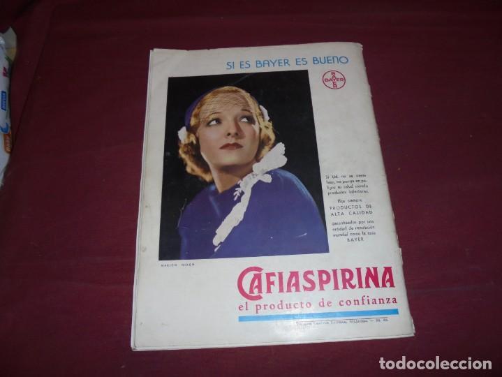Cine: magnifica antigua revista cinegraf 1934 numero 25, GRETA GARBO - Foto 29 - 253875150