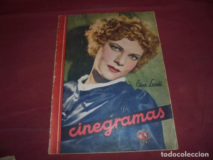 Cine: magnificas 5 revistas antiguas cinegramas - Foto 3 - 253882290