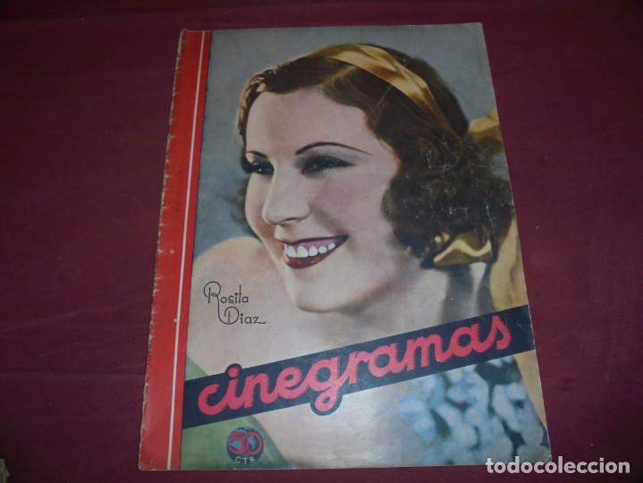 Cine: magnificas 5 revistas antiguas cinegramas - Foto 5 - 253882290