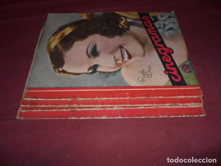Cine: magnificas 5 revistas antiguas cinegramas - Foto 6 - 253882290