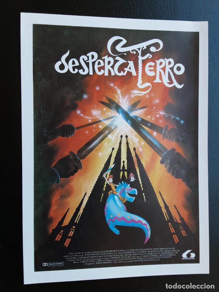 DESPERTAFERRO IMPRESO EN LOS AÑOS 80 (Cine - Reproducciones de carteles, folletos...)