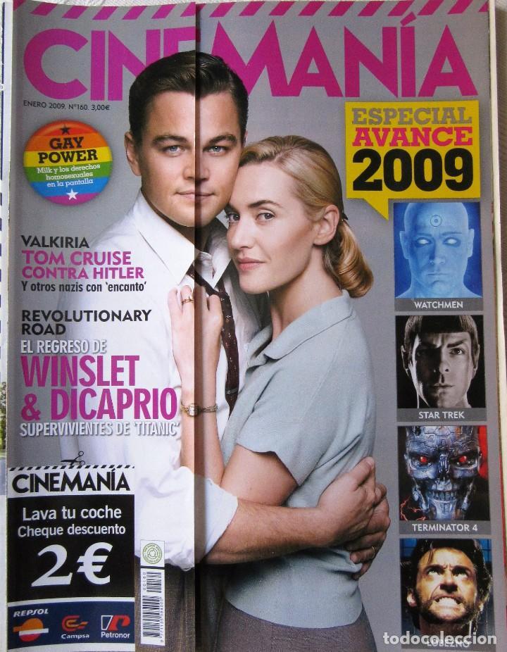 CINEMANÍA NÚMERO 160 - ENERO 2009 (Cine - Revistas - Cinemanía)