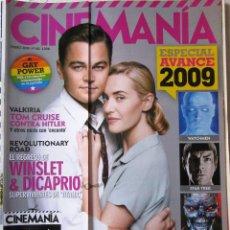 Cine: CINEMANÍA NÚMERO 160 - ENERO 2009. Lote 254433215