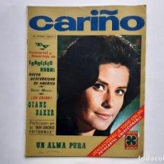 Cine: REVISTA TV 1967 CARIÑO Nº 52 CARTEL REPORTAJE FRANCISCO RABAL DIANA BAKER FOTONOVELA COMPLETA RV. Lote 254487460