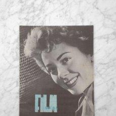 Cine: FILM IDEAL - Nº 43 - 1960 - SILVIA PINAL, NEORREALISMO, CINE ESPAÑOL, CINE POLICIACO. Lote 254564660