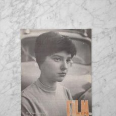 Cine: FILM IDEAL - Nº 44 - 1960 - MARI CARMEN AYMAT, JACQUES BECKER, BRESSON, CINE ESPAÑOL, LOS CHICOS. Lote 254565535