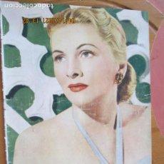 Cine: IMAGENES REVISTA DE LA CINEMATOGRAFIA Nº 34 MARZO 1948 - PORTADA JOAN FONTAINE. Lote 254622860