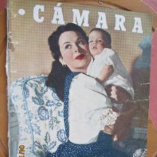 Cine: CAMARA REVISTA CINEMATOGRAFICA Nº 80 MAYO 1946 PORTADA HEDY LAMARR - FOTOS, DIBUJOS Y PROPAGANDAS. Lote 254624255